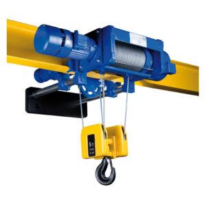 Тельфер канатный электрический для уменьшенной строительной высоты